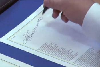 Украина подписала экономическую часть Договора об ассоциации с ЕС